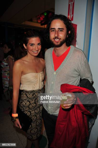 Kylie Gattinella and Zack Chodorow attend ASSOCIATION to BENEFIT CHILDREN hosts COCKTAILS IN CANDYLAND at Dylan's Candy Bar on June 18 2009 in New...