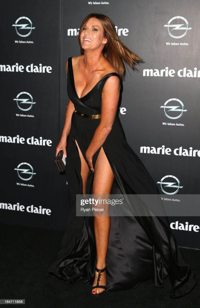 Kylie Gillies arrives at the 2013 Prix de Marie Claire Awards at the Star on March 27, 2013 in Sydney, Australia.