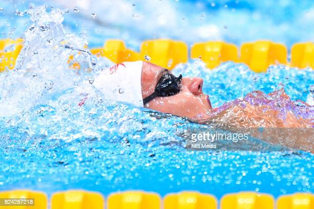 Kylie Jacqueline Masse during the Budapest 2017 FINA World Championships on July 28 2017 in Budapest Hungary