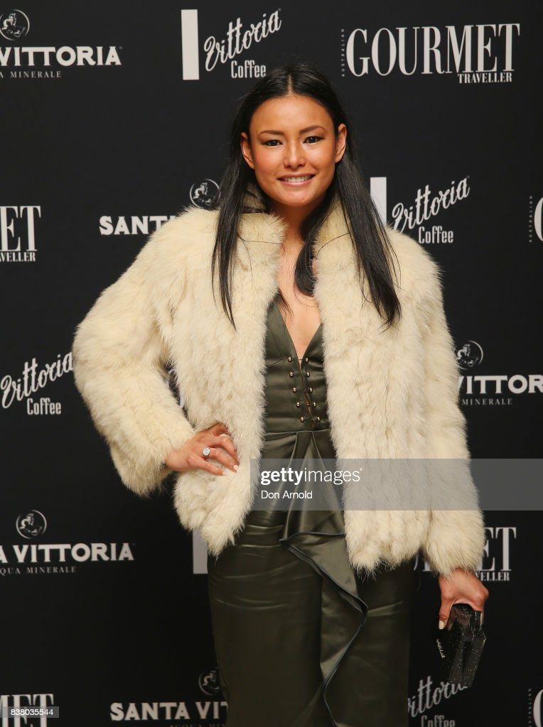 Kylie Javier poses at the 2018 Gourmet Traveller National Restaurant Awards at Chin Chin Restaurant on August 23, 2017 in Sydney, Australia.