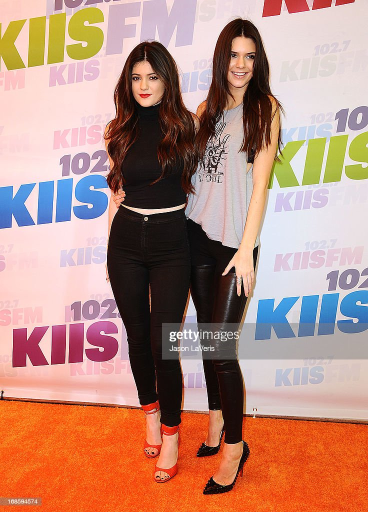 Kylie Jenner and Kendall Jenner attend 1027 KIIS FM's Wango Tango at The Home Depot Center on May 11 2013 in Carson California