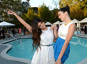 Kylie Jenner and Kendall Jenner attend Seventeen Magazine's September Issue Celebration with Kendall Jenner and Kylie Jenner at the W Hotel Westwood...