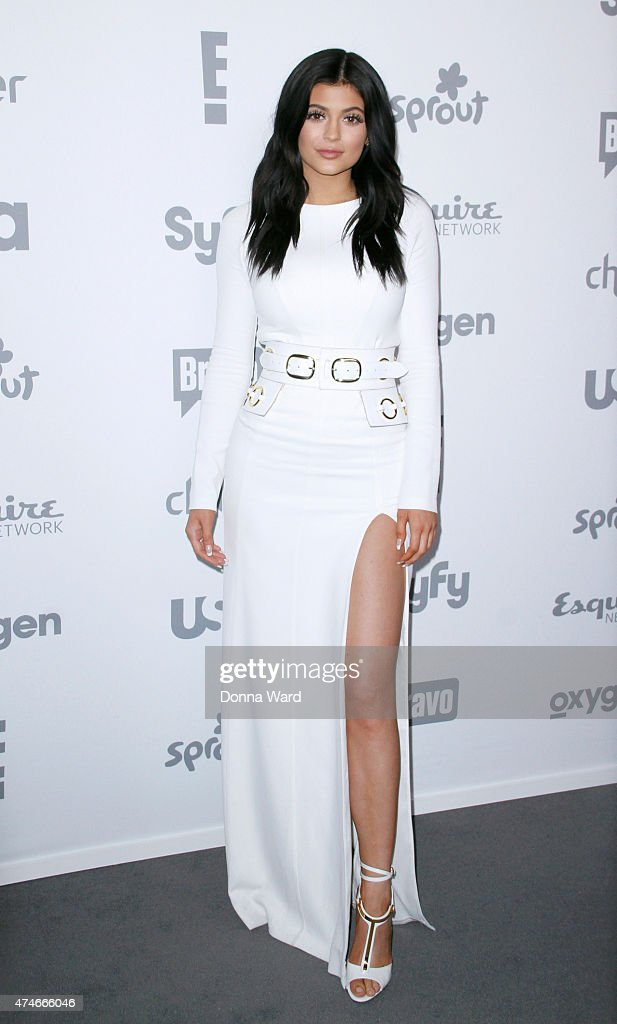 Kylie Jenner appears during the 2015 NBCUniversal Cable Entertainment Upfront at The Jacob K. Javits Convention Center on May 14, 2015 in New York City.
