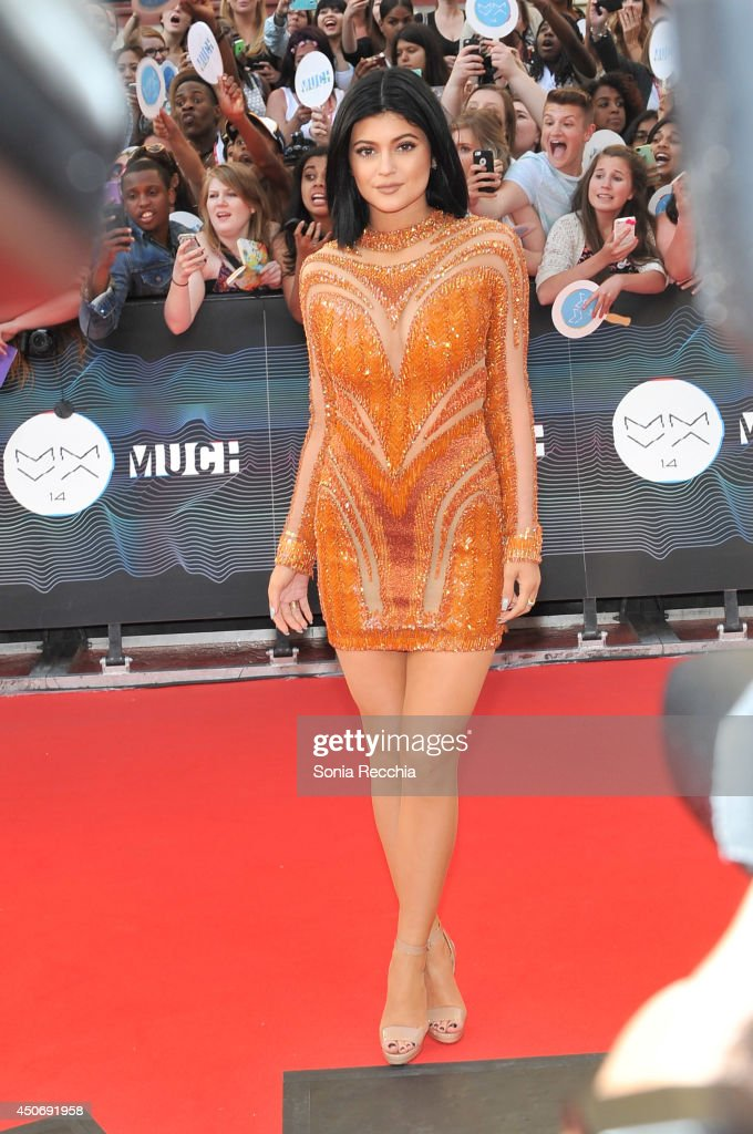 Kylie Jenner arrives at the 2014 MuchMusic Video Awards at MuchMusic HQ on June 15, 2014 in Toronto, Canada.
