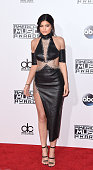 Kylie Jenner arrives at the 2015 American Music Awards at Microsoft Theater on November 22 2015 in Los Angeles California