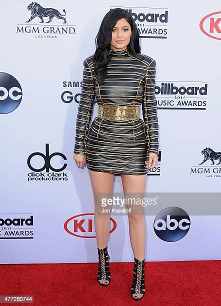 Kylie Jenner arrives at the 2015 Billboard Music Awards at MGM Garden Arena on May 17 2015 in Las Vegas Nevada