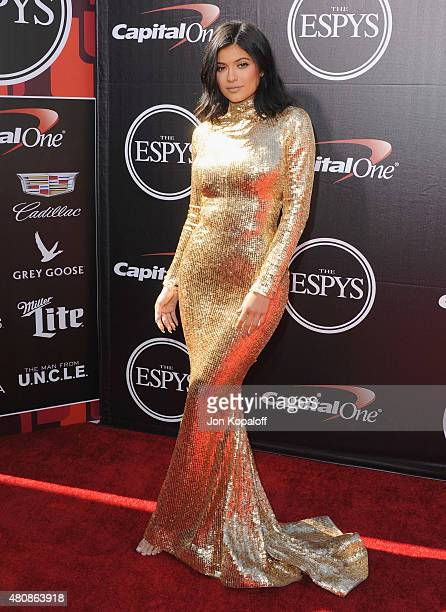 Kylie Jenner arrives at The 2015 ESPYS at Microsoft Theater on July 15 2015 in Los Angeles California
