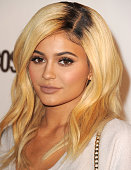 Kylie Jenner arrives at the Cosmopolitan Magazine's 50th Birthday Celebration at Ysabel on October 12 2015 in West Hollywood California