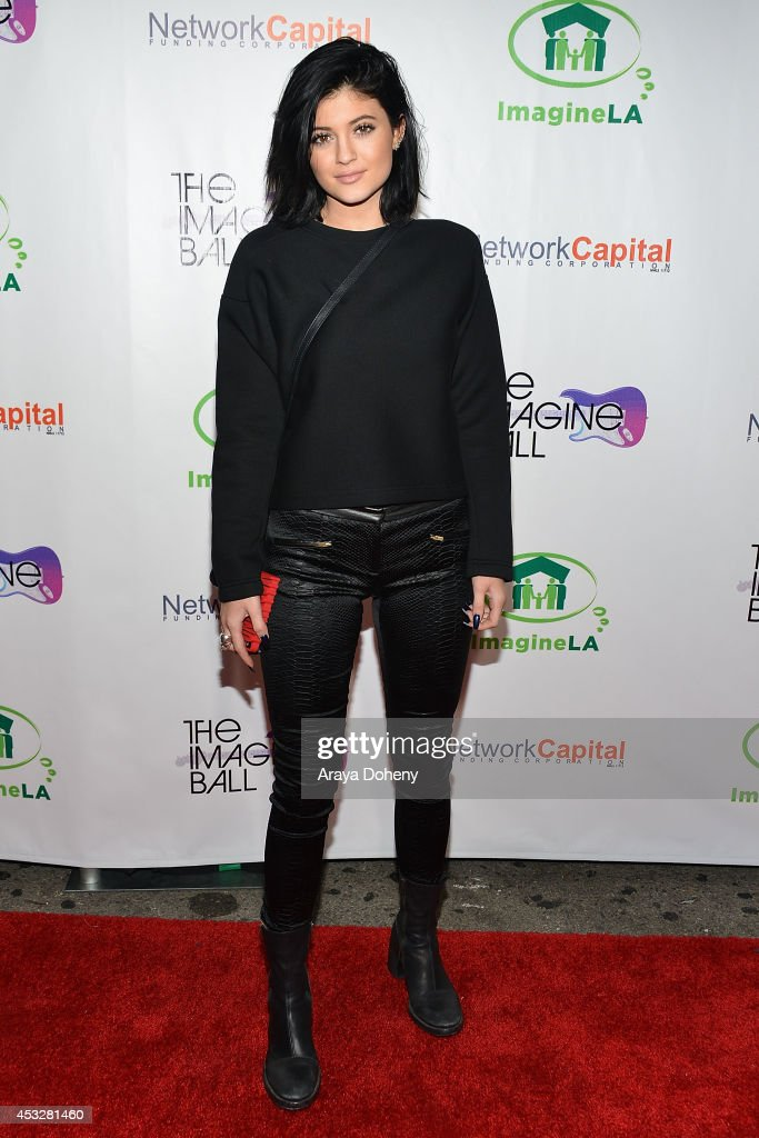 <a gi-track='captionPersonalityLinkClicked' href=/galleries/search?phrase=Kylie+Jenner&family=editorial&specificpeople=870409 ng-click='$event.stopPropagation()'>Kylie Jenner</a> arrives at The Imagine Ball held at House of Blues Sunset Strip on August 6, 2014 in West Hollywood, California.