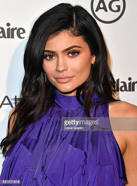 Kylie Jenner arrives at the Marie Claire's Image Maker Awards 2017 on January 10 2017 in West Hollywood California
