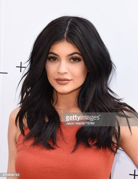 Kylie Jenner arrives at the New Kendall Kylie Fashion Line Laucnh Party At TopShop at TopShop on June 3 2015 in Los Angeles California