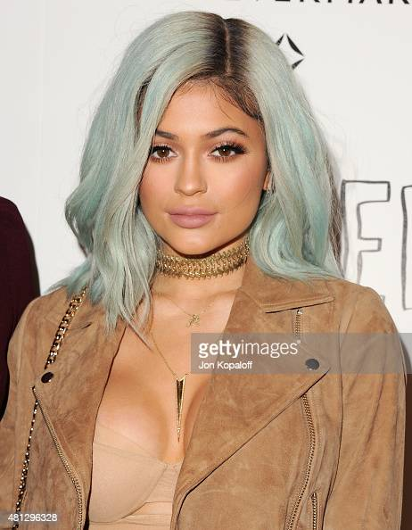 Kylie Jenner arrives at the Screening Of 20th Century Fox's 'Paper Towns' at The London West Hollywood on July 18 2015 in West Hollywood California
