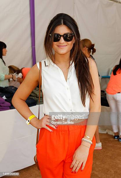 Kylie Jenner attends 6th Annual Kidstock Music And Arts Festival Sponsored By Hudson Jeans at Greystone Mansion on June 3 2012 in Beverly Hills...