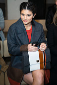 Kylie Jenner attends Boss Womenswear show during Fall 2016 New York Fashion Week on February 17 2016 in New York City