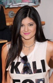 Kylie Jenner attends 'Kendall And Kylie' Fall Collection Preview at PacSun NYC Pop Up Shop on August 6 2013 in New York City
