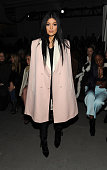 Kylie Jenner attends the 31 Phillip Lim fashion show at Skylight Clarkson SQ on February 16 2015 in New York City