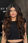Kylie Jenner attends the 'After Earth' premiere at Ziegfeld Theater on May 29 2013 in New York City