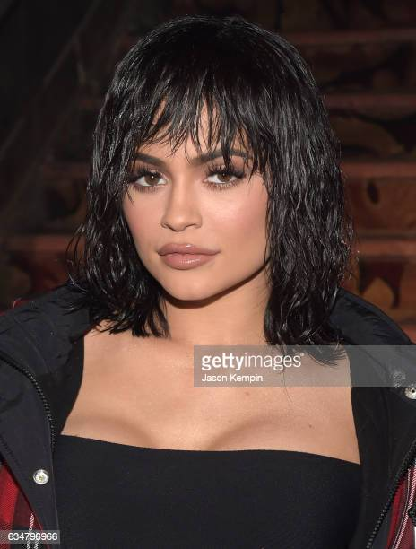 Kylie Jenner attends the Alexander Wang February 2017 fashion show during New York Fashion Week on February 11 2017 in New York City