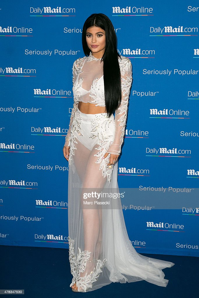 Kylie Jenner attends the 'DailyMailcom Seriously Popular Yacht Party' on June 24 2015 in Cannes France