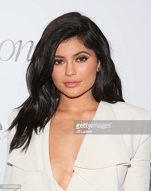 Kylie Jenner attends the 'Fresh Faces' party hosted by Marie Claire celebrating the May issue cover stars on April 11 2016 in Los Angeles California
