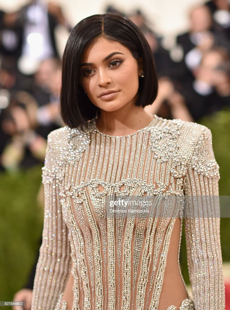 Kylie Jenner attends the 'Manus x Machina: Fashion In An Age Of Technology' Costume Institute Gala at Metropolitan Museum of Art on May 2, 2016 in New York City.