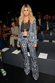 Kylie Jenner attends the Prabal Gurung show during Spring 2016 New York Fashion Week The Shows at The Arc Skylight at Moynihan Station on September...