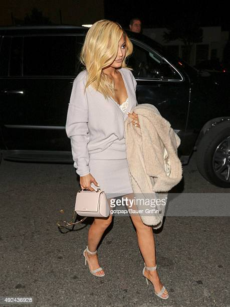 Kylie Jenner is seen arriving at Cosmopolitan Magazine's 50th Birthday Celebration on October 12 2015 in Los Angeles California