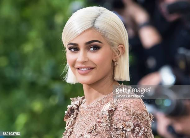 Kylie Jenner is seen at the 'Rei Kawakubo/Comme des Garcons Art Of The InBetween' Costume Institute Gala at Metropolitan Museum of Art on May 1 2017...