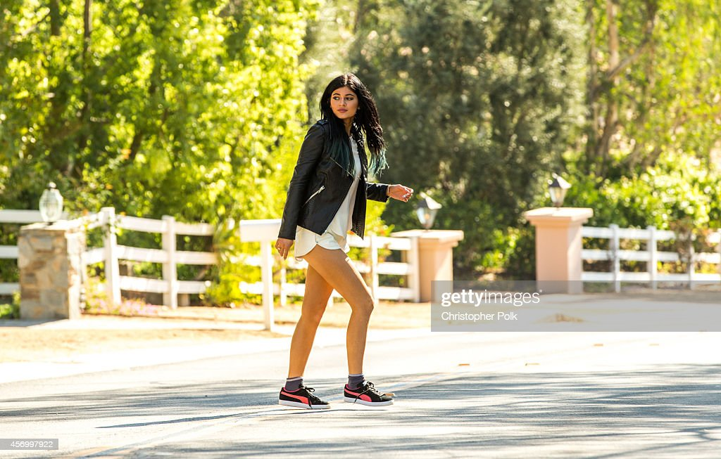 Kylie Jenner is seen October 10 2014 in Calabasas California