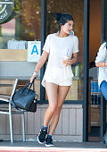 Kylie Jenner is seen on October 09 2014 in Los Angeles California