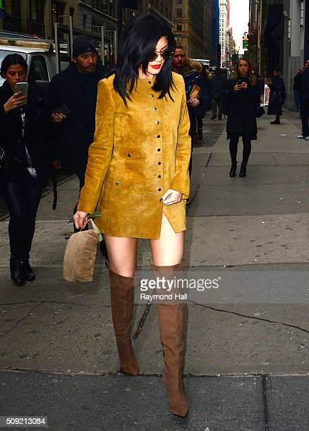 Kylie Jenner is seen walking in Midtown February 9 2016 in New York City