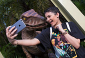 Kylie Jenner received a special welcome upon her arrival to Universal Orlando Resort where she was hosted on March 9 2016 in Orlando Florida The star...