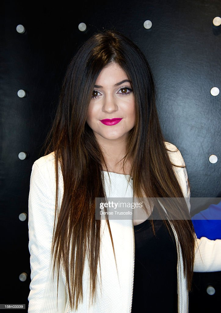 Kylie Jenner visits Kardashian Khaos at The Mirage Hotel and Casino on December 15, 2012 in Las Vegas, Nevada.