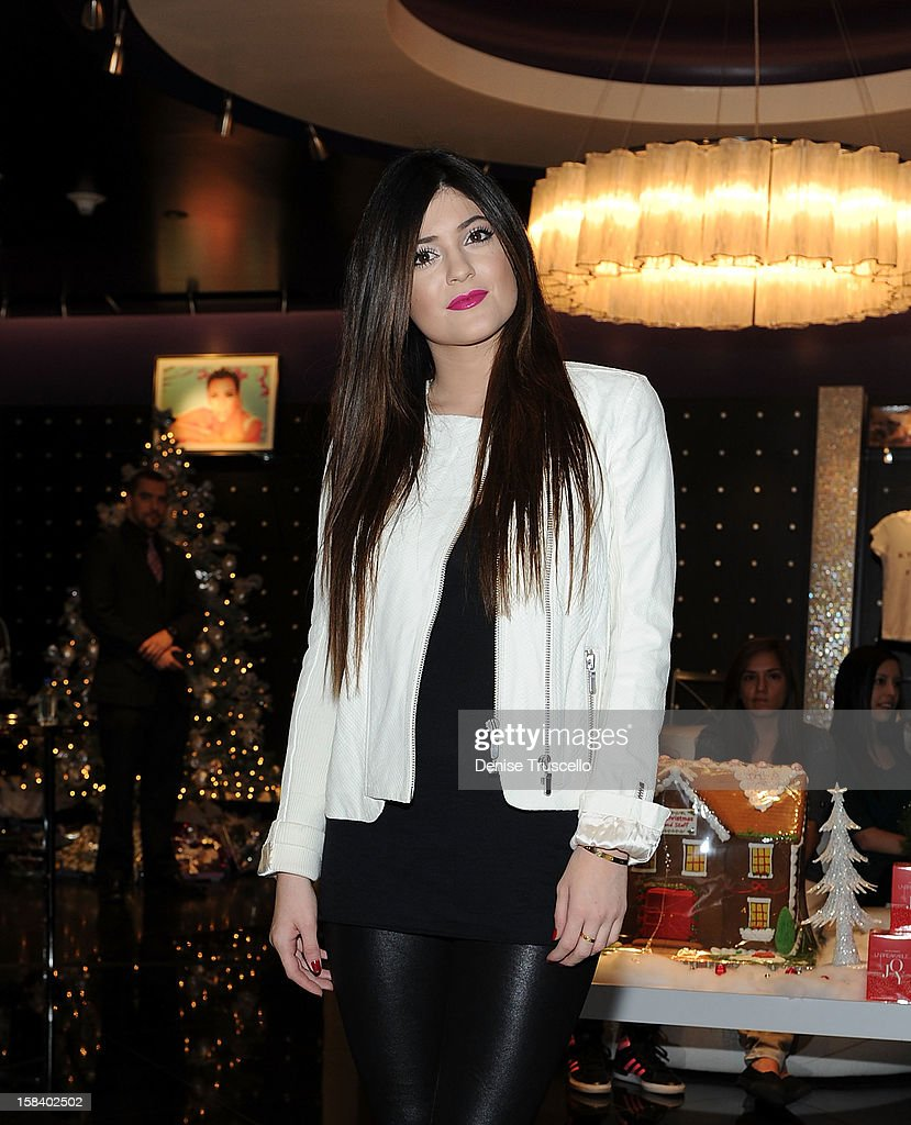 Kylie Jenner visits the Kardashian Khaos store at The Mirage Hotel and Casino on December 15, 2012 in Las Vegas, Nevada.