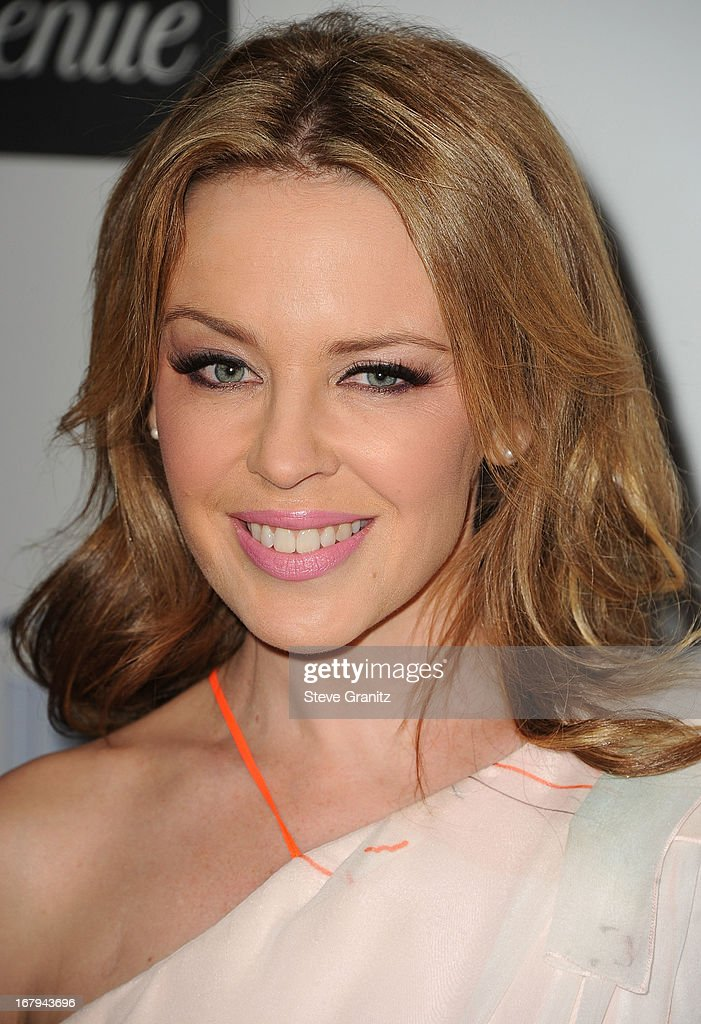 Kylie Minogue arrives at the An Unforgettable Evening Benefiting EIF's Women's Cancer Research Fund at Regent Beverly Wilshire Hotel on May 2, 2013 in Beverly Hills, California.