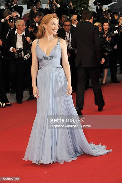 Kylie Minogue at the Closing Ceremony and the premiere for 'Therese Desqueyroux' during the 65th Cannes International Film Festival