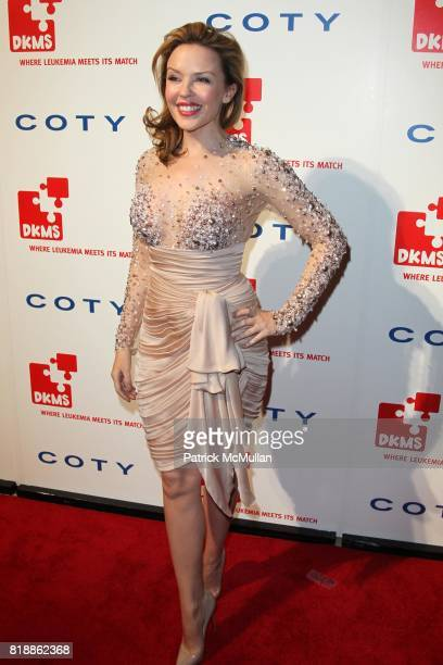 Kylie Minogue attends DKMS' 4th Annual Gala' LINKED AGAINST LEUKEMIA at Cipriani's 42nd St on April 29 2010 in New York City