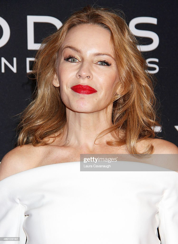 Kylie Minogue attends the 'Exodus Gods And Kings' New York Premiere at Brooklyn Museum on December 7 2014 in New York City