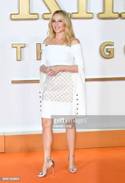 Kylie Minogue attends the 'Kingsman The Golden Circle' World Premiere at Odeon Leicester Square on September 18 2017 in London England