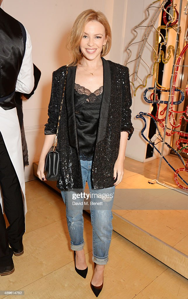 <a gi-track='captionPersonalityLinkClicked' href=/galleries/search?phrase=Kylie+Minogue&family=editorial&specificpeople=201671 ng-click='$event.stopPropagation()'>Kylie Minogue</a> attends the Stella McCartney Christmas Lights Switch On at the Stella McCartney Bruton Street Store on November 26, 2014 in London, England.