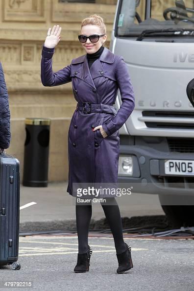 Kylie Minogue is seen on November 19 2012 in London United Kingdom