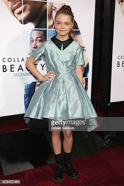 Kylie Rogers attends 'Collateral Beauty' World Premiere Arrivals at Frederick P Rose Hall Jazz at Lincoln Center on December 12 2016 in New York City