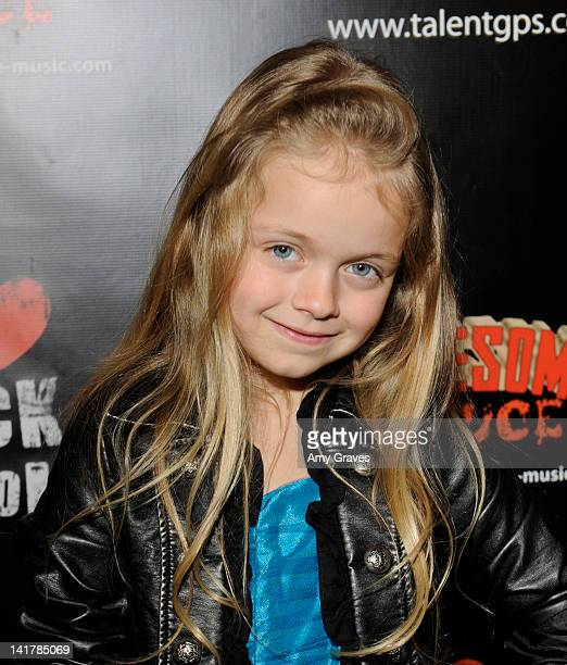 Kylie Rogers attends the Shamrock and Roll Concert for St Jude's Children's Hospital on March 17 2012 in Los Angeles California