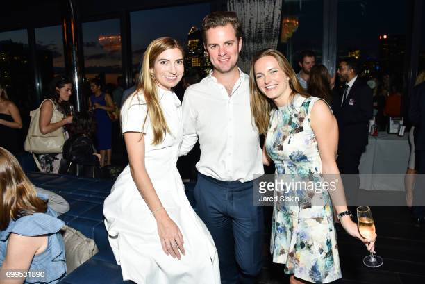 Kylie Van Hoek and Alex Van Hoek attend The Junior Board of The TEAK Fellowship Presents A Midsummer Night at PhD Lounge at the Dream Downtown New...