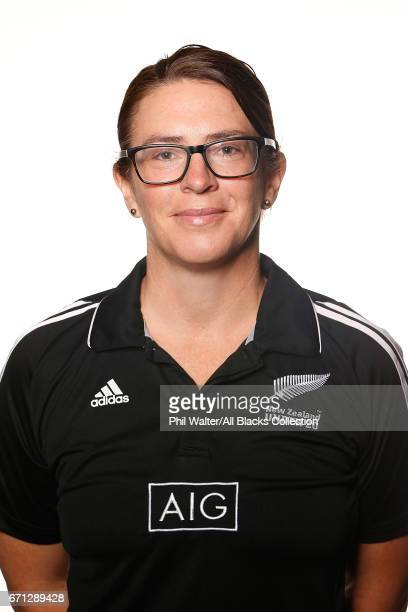 Kylie Wilson poses during the New Zealand U20 Headshots Session at Novotel Auckland Airport on April 22 2017 in Auckland New Zealand