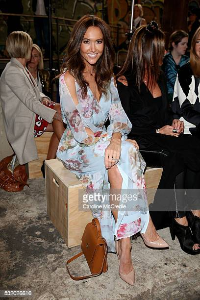 Kyly Clarke attends the Kitx show at MercedesBenz Fashion Week Resort 17 Collections at Paddington Reservoir on May 18 2016 in Sydney Australia