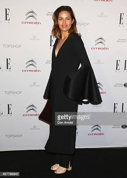 Kym Ellery arrives at Elle Style Awards 2014 at on October 24 2014 in Sydney Australia