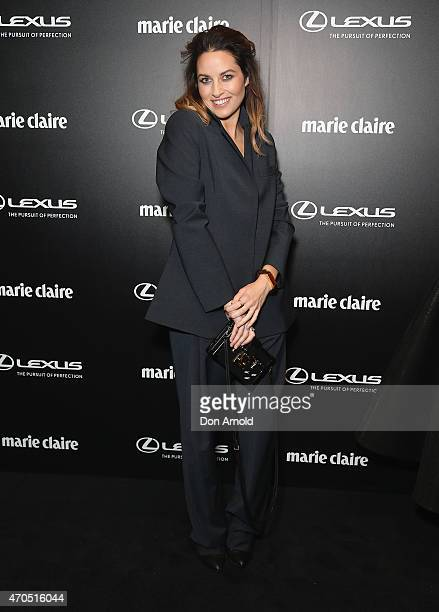 Kym Ellery arrives at the 2015 Prix de Marie Claire Awards at Fox Studios on April 21 2015 in Sydney Australia