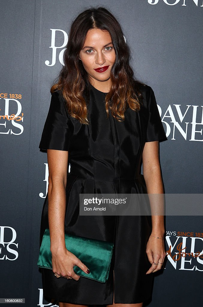 Kym Ellery arrives for the David Jones A/W 2013 Season Launch at David Jones Castlereagh Street on February 6, 2013 in Sydney, Australia.