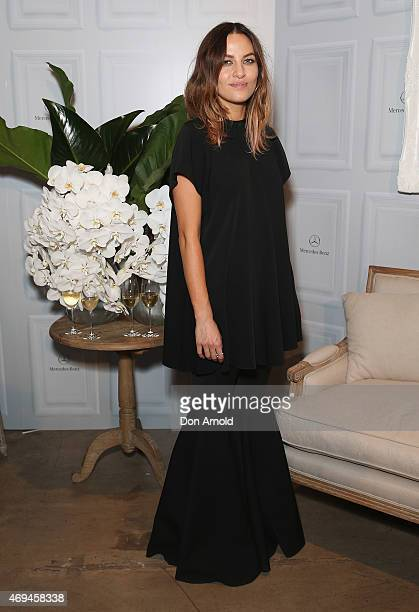 Kym Ellery attends the MercedesBenz Presents Dinner following the Ellery Show at MercedesBenz Fashion Week Australia 2015 at Carriageworks on April...